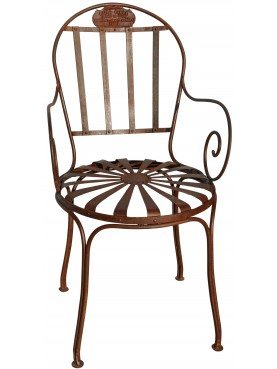 Forged Iron French armchair