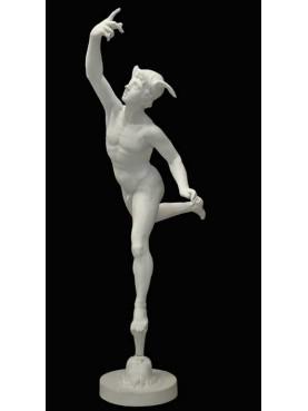 The statue of Mercury by Giambologna