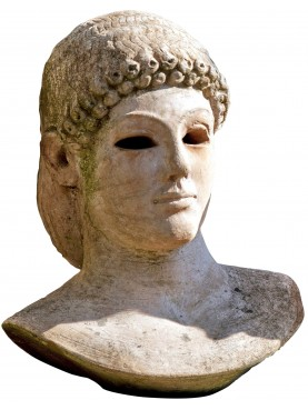 Apollo di Piombino - our terracotta bust