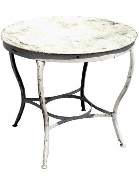 Round iron table Ø90cms