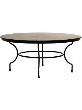 Wrought Iron table Ø165cm
