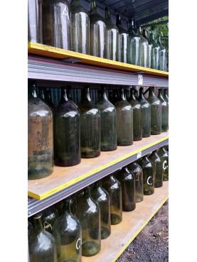 enormi Bottiglie soffiate originali da vino antiche