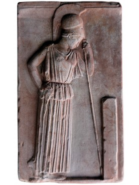 """Meditating Athena"" terracotta reproduction"
