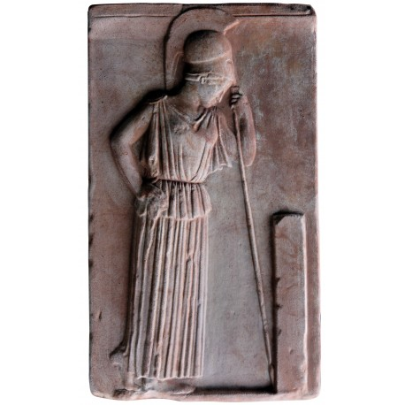"""Meditating Athena"" plaster cast reproduction"