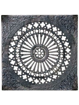 78x78cms Ancient Large manhole cover