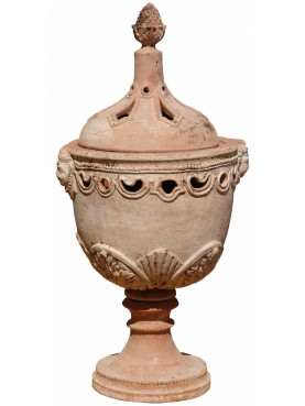 Braciere mediceo in terracotta - piccolo