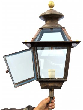 Tuscan brass hand made Lantern