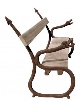 Panchina a forma di Drago in Ghisa