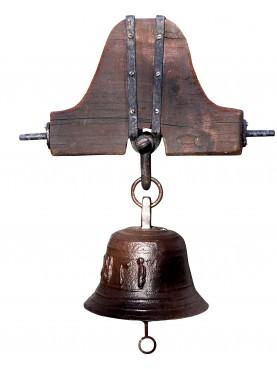 Ceppo per campana in ghisa