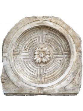 Labirinto di Side (Anatolia) marmo bianco turchia