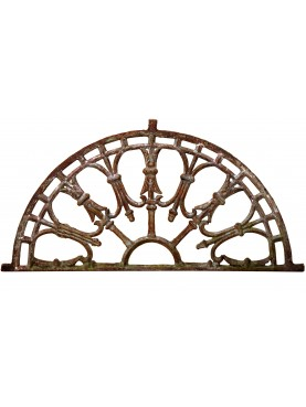 Cast-Iron fan window