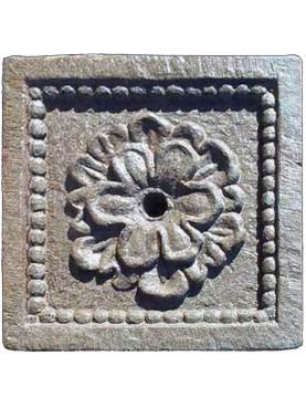 Formella fiorentina in pietra