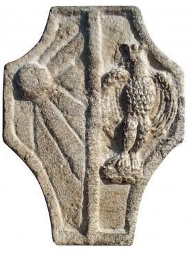 Stemma nobiliare in pietra
