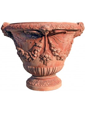 Vaso mediceo in Terracotta del Giardino di Boboli (Firenze)