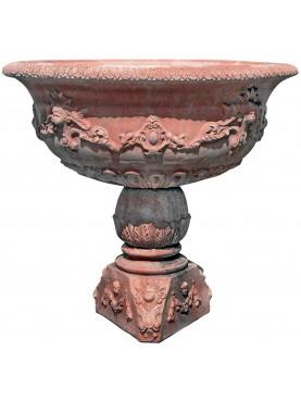 Great terracotta fountain
