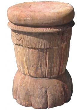 Sedile in terracotta