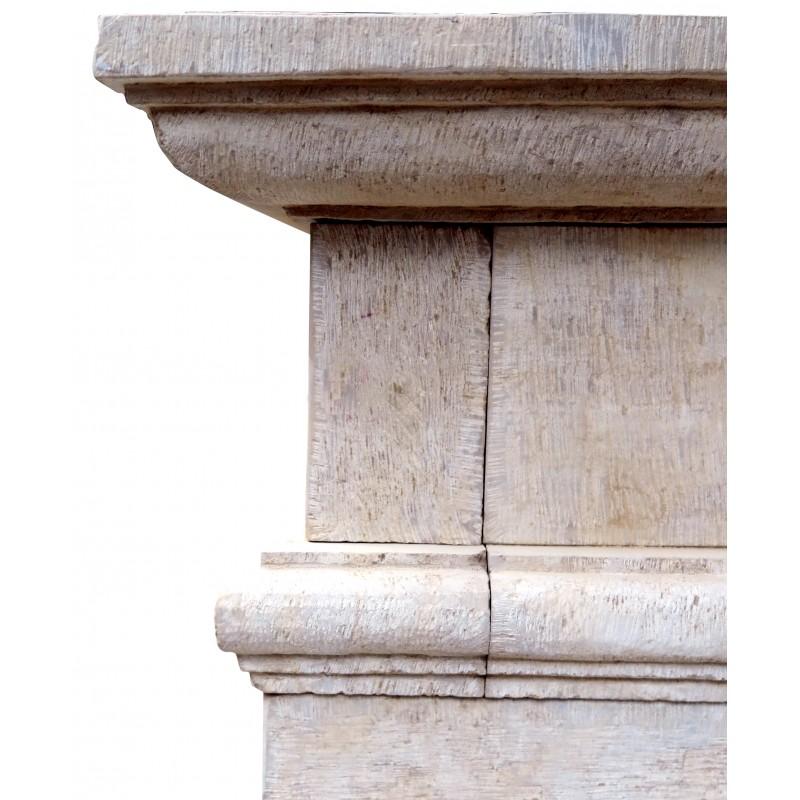 Pietra ispirazioni camino tutte le immagini per la for Disegni di case in pietra calcarea