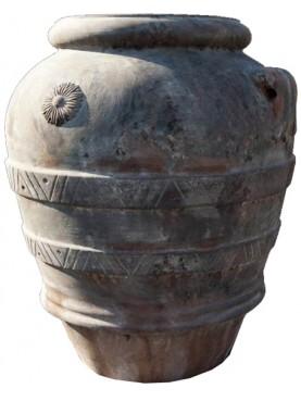 GRANDE ORCIO IMPRUNETINO H. 110 CM. terracotta