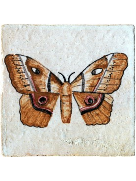 Butterfly tile entomological tiles