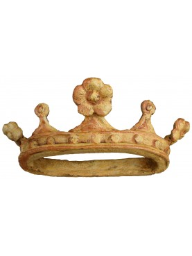 Majolica crown