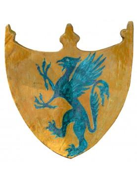 Griffon majolica coat of arms