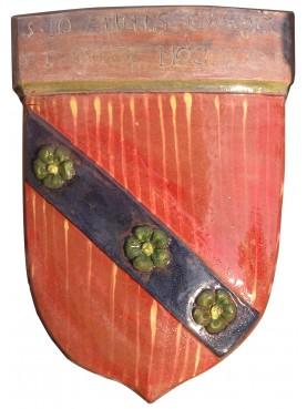 Majolica Coat of arms Della Robbia