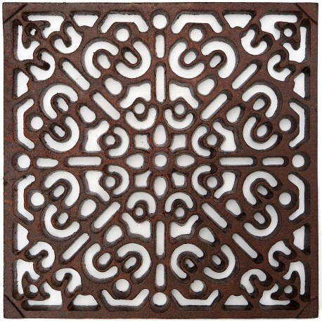 Cast-iron grid very strong