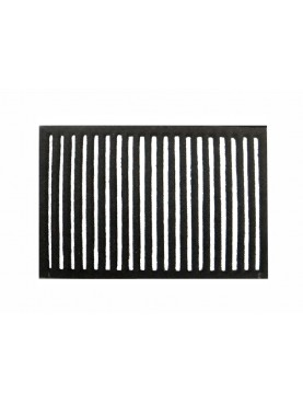 Rectangular cast-iron grid