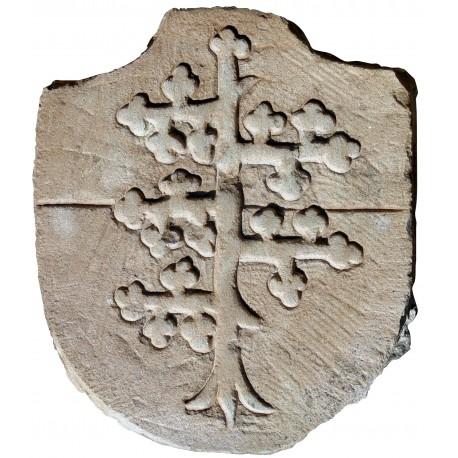 Stemma in pietra - Spino Fiorito Malaspina