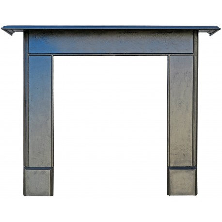 Wrougth iron fireplace our production