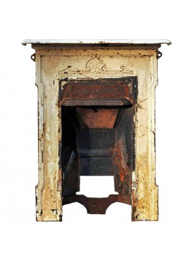 Ancient original english fireplace