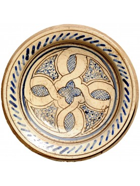 Copy of an ancient medieval Tuscan dish  sc 1 st  Recuperando : medieval dinnerware sets - pezcame.com