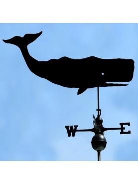 """Balena """"Capodoglio"""" banderuola tradizionale europea"""