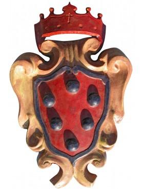 Stemma maiolicato