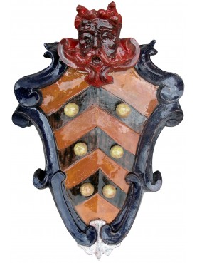Copia di stemma toscano invetriato