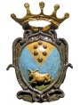 Medici majolica coat of arms