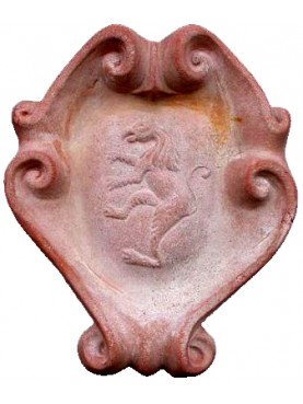 Coat of arms in terracotta