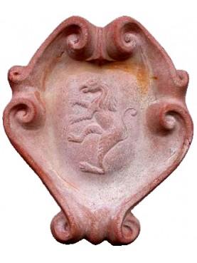 Stemma in terracotta