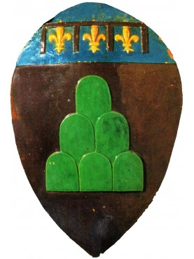 Majolica coat of arms