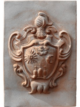 Terracotta coat arm