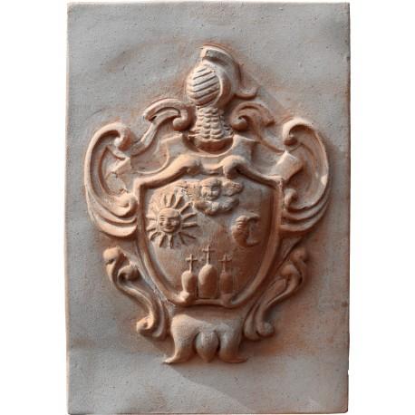 Terracotta coat arm