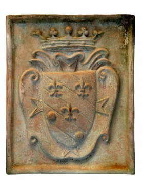 Terracotta coat of arms