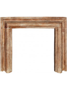 Terracotta Salvator Rosa frame - large size - tuscan fireplace