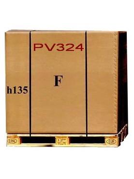 Imballaggio 120x80xh135 cmscatola di cartone e pallet