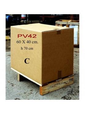 Imballaggio 60x40xH70 cartone e pallet
