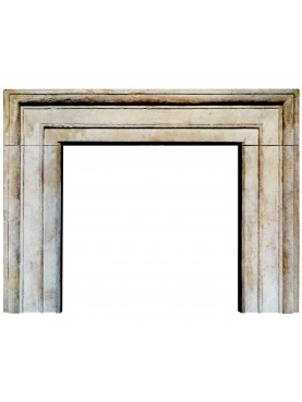 Fireplace frame from Bologna - limestone