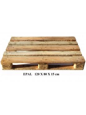 Pallet EPA 120 X 80 X 15 cm