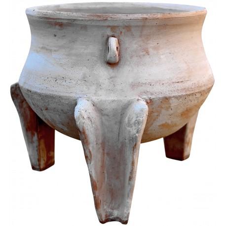 Tripode in terracotta