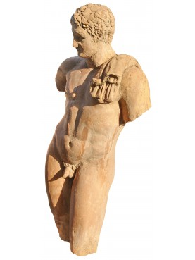 Ermes di Andros in terracotta
