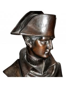 Napoleone Bonaparte busto in gesso